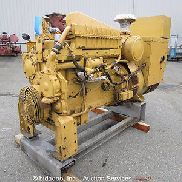 Caterpillar SR-4B 350 Cat 3306 Turbo DieselGenset 400kV Skid Mounted Generator