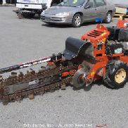 "2011 Ditch Witch RT12 Walk Hinter Trencher Honda Gas Selbstangetrieben 56 ""Bar"
