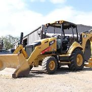 2012 CATERPILLAR 416F BACKHOE- loader- WHEEL loader- CAT- DEERE- CASE- 26 PICS