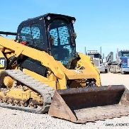 2014 CATERPILLAR 289D SKID Steering TRACK SKID Steering SKID loader- CAT- 25 PIC