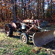 Early 50 s International Farmall A Antique Tractor