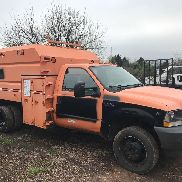 2004 FORD F450 XL Dump Bed Shredder & Chipper LKW 4X4 V10 6-Gang