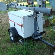 2010 Magnum MLT3060M Towable Light Tower Plant Mitsubishi Diesel Generator
