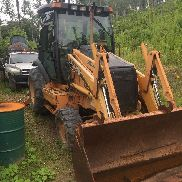 Case 580 SuperM Backhoe Loader 4WD Four Wheel Drive