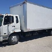 2008 Mitsubishi Fuso FK260 / 26' Van Body /One Owner Since New 6 Speed 165K L@@K