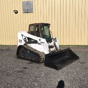 BOBCAT T250 TRACK SKID STEER CAB high flow super low hrs work ready!!