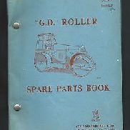 AVELING-BARFORD G.D. ROAD ROLLER TYPES R,Q,O and M, Marks 2 &3 SPARE PARTS BOOK