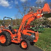 Kubota L3940 Diesel Tractor, 2008 Model, 39HP, 4x4, Hydro, Loader & Backhoe,