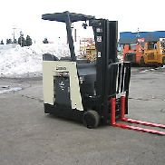 "2006 CROWN DOCKSTOCKER FORKLIFT WITH 2011 BATTERY 3000# 190"" LIFT,SIDE SHIFTER"