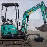 2012 IHI 17VX3 Mini Excavator Digger - Diesel - Rubber Tracks - Just 1,370 Hours