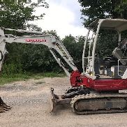 2014 Takeuchi TB228 Mini Excavator - 6,195 Lbs - Recent Service - 1,523 Hours