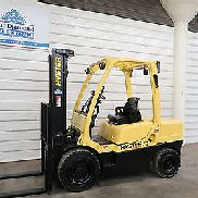 2009 Hyster H70FT, 7,000# DIESEL Pneumatic Tire Forklift, Three Stage, S/S, Nice