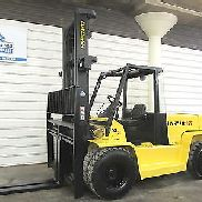 Hyster H155XL, 15,500# DIESEL Pneumatic Tire Forklift, Sideshift H135XL, Low Hr.