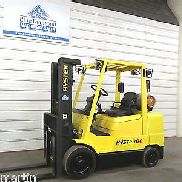 2004 Hyster Forklift S60XM 6,000 lb Lift, LP Gas, Three Stage Mast, Mazda Engine