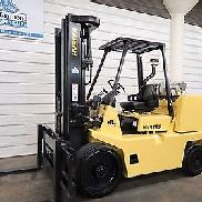 Hyster S155XL2, 15,500# L.P. Cushion Tire Forklift, Sideshift, Very Low Hr.