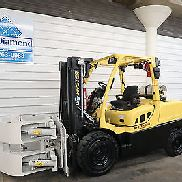 2011' Hyster H120FT 12,000# Pneumatic Tire Forklift, Three Stage, 4 Way Hyd.