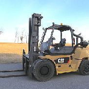 2010 Cat P17500, 17,500# DIESEL Pneumatic Tire Forklift, S/S & F/P, 2,622 Hours