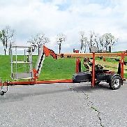 2010 JLG T500J Manlift, Articulating Telescoping Boom, 50' Lift, Genie TZ-50