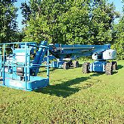 2007 Genie S-125 Boom Lift, Cummins Diesel, Manlift, 4x4 Drive, Only 1,950 Hours