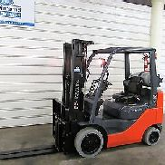 Toyota 8FGCU25, 5,000# Cushion Tire Forklift, LPS Rated, 4 Way, Triple Sideshift