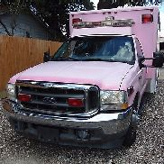2002 FORD F-350 AMBULANCE TYPE I 7.3L V8 BLS STOCKED HORTON MANUFACTURED