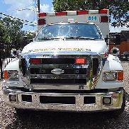 2007 FORD F-650 SUPER DUTY AMBULANCE L6 5.9L CUMMINS BLS STOCKED ROAD RESCUE