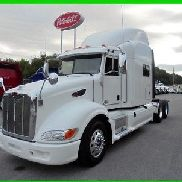 "2012 Peterbilt 386 Used Sleeper - 70"" Raised Roof - Double Bunk - APU - Cummins!"