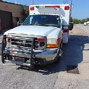 2000 FORD F-350 AMBULANCE TYPE1 7.3L V8 BLS STOCKED WHEELED COACH