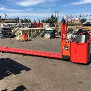 2007 RAYMOND FORKLIFT ELF RIDER ELEC. JACK ,16' FORKS & W/OPERATORS COMPARTMENT