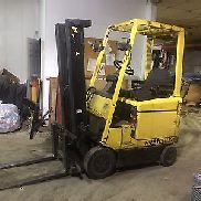 "HYSTER 4 WHEEL SIT DOWN FORKLIFT 3000LB CAPACITY 191"" LIFT CLEAN 42"" FORKS,HD"