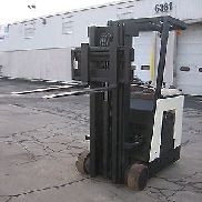 "2003 CROWN DOCKSTOCKER FORKLIFT 3000# 190"" LIFT,SIDE SHIFTER VERY CLEAN"