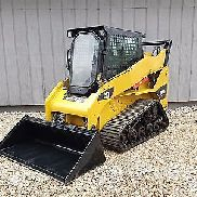 2012 CATERPILLAR 257B3 2454HRS! 10MPH! HEAT/AC CAT MTL Track Skid Steer Loader