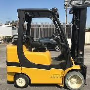 2008 Yale GLC070VXNGSE088 CUSHION TIRE FORKLIFT - USED (B4739)