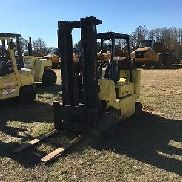"HYSTER 8000LB LP FORKLIFT 42"" FORKS 15' LIFT HEIGHT CUSHION TIRE BOX CAR SPECIAL"