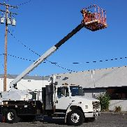 JLG Boom Lift mounted on Freightliner truck super low miles bucket truck