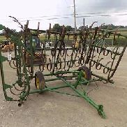 John Deere Transportation Harrow For Tractors, 16' Max Width, Hydraulic Lift