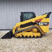 HIGH FLOW 2013 Caterpillar 299D XPS FULL CAB Spur Kompaktlader Cat Loader