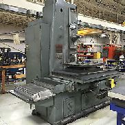 "Devlieg 43K72 Boring Mill, 60"" Y axis, Air Lift Table, 4"" Spindle"