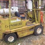 Clark Forklift Triple stack Machine heavy duty - 4000 lbs capacity take a look