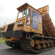 1994 Morooka MST2200,Cat Dsl Power w/235hp Tracked Dump Truck