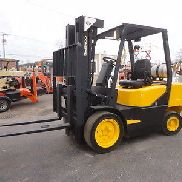 "DAEWOO G30S 6000LB 3-STAGE SIDE SHIFT 173"" LIFT LPG 4263HRS STK# 00220"