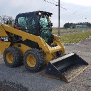 2014 Caterpillar 236D Skid Steer Loader 2 Speed Hydraulics Diesel Cab AC Cat