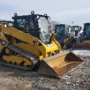 2011 Caterpillar 259B3 Compact Track Skid Steer Loader 2 Speed Hydraulic Coupler