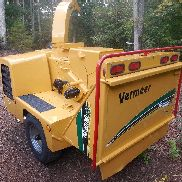 2002 VERMEER BC1000XL 12 ZOLL HOLZ CHIPPER, 85 HP CUMMINS DIESEL, SERVICED,