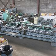 "TOS 22x160"" Lathe with Aloris Toolpost & Chucks"