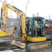 2012 CAT 305e Mini Excavator Digger - Diesel - Rubber Tracks - 2,045 Hours
