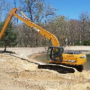 2009 Fall CX240B LR EXKAVATOR 60ft LANGE AC 4800HRS Gliederband 240 X2 LF
