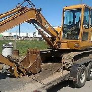 1997 Daewoo DH50 Midi Excavator w/ Cab. Coming in Soon!