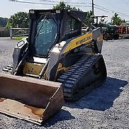 2006 New Holland C185 Tracked Kompaktlader mit Kabine!
