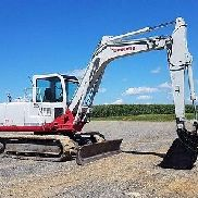2001 Takeuchi TB175 Hydraulic Track Hoe Excavator Diesel Construction Machine...